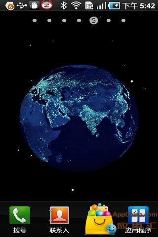 地球之夜动态壁纸