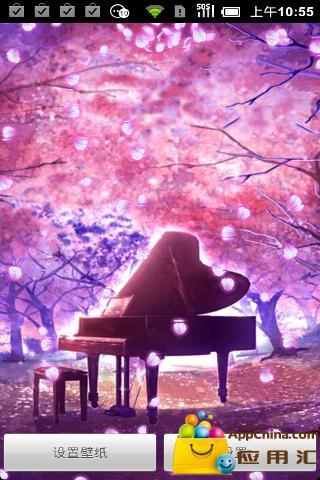 动态壁纸-飞舞的樱花