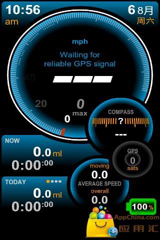 高速GPS里程表