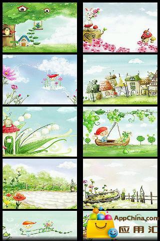 春日童话壁纸集
