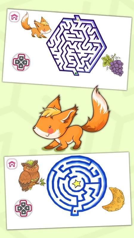 经典动物迷宫游戏
