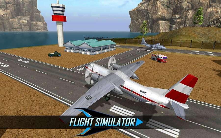 飞行模拟器2017 - 飞机飞行飞行员3D