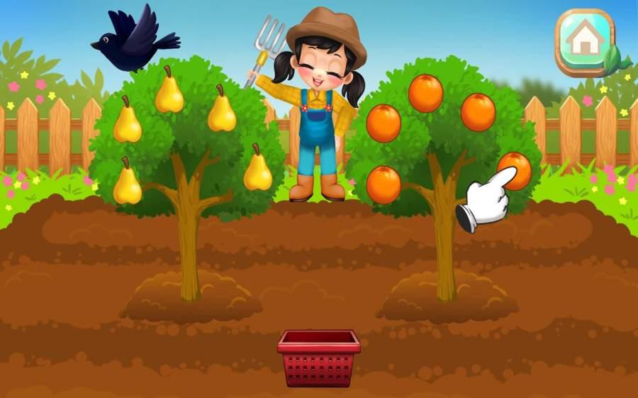 Farm Animals & Vegetables Fun Game for Kids截图0