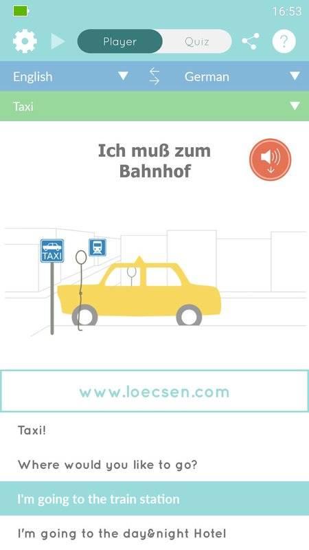 Loecsen - 旅行音频短语
