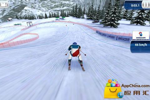 【免費體育競技App】滑雪挑战赛13 精简版-APP點子