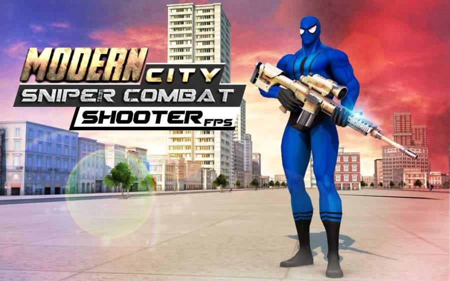 Modern City Sniper Combat: FPS Shooter