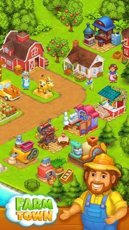 农场:农村之快乐故事截图0