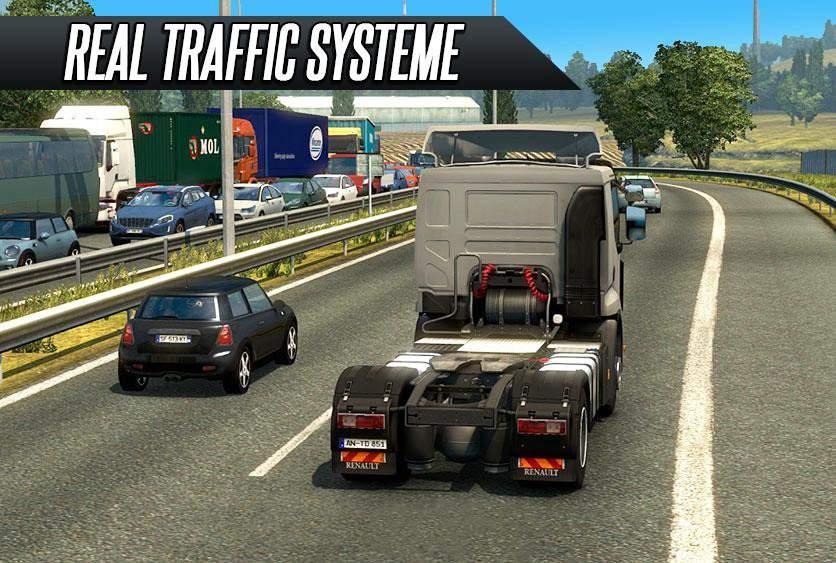 Truck Simulator Real Driving截图0