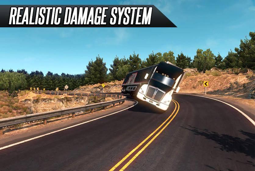 Truck Simulator Real Driving截图1