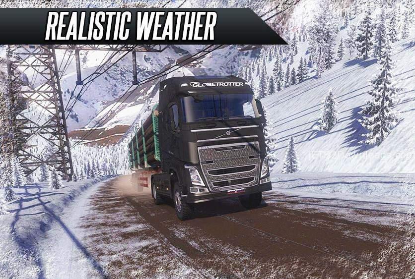 Truck Simulator Real Driving截图2