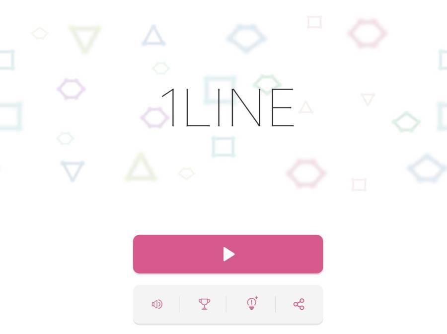 1LINE - one-stroke puzzle game截图2