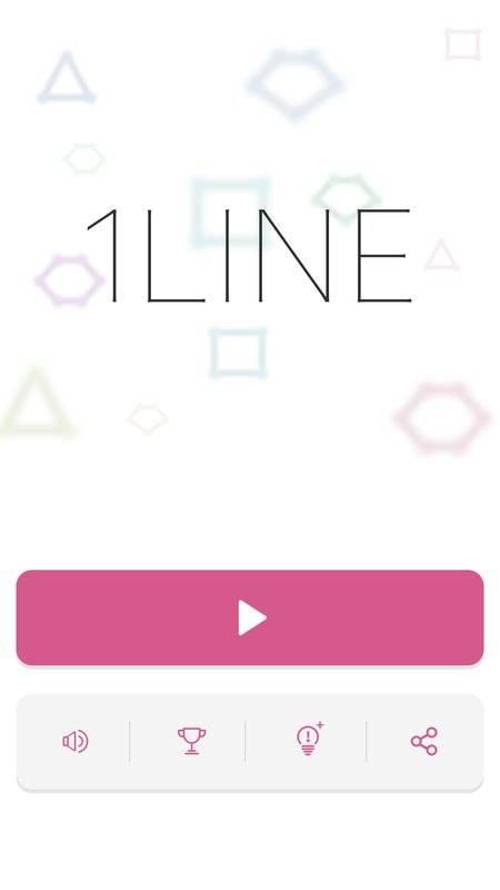 1LINE - one-stroke puzzle game截图3