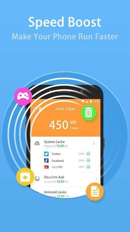安卓清理優化大師-垃圾清理,加速手機,最佳化系統截图3