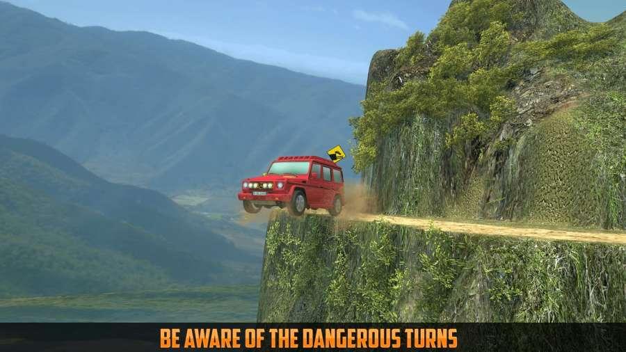 越野吉普车攀岩4x4:3D冒险