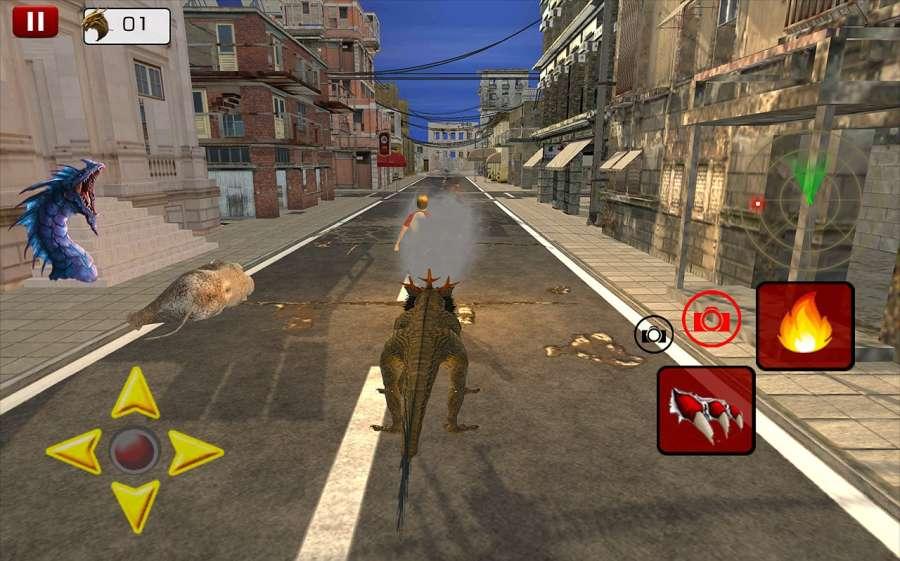 瘋狂怪物龍戰爭Sim