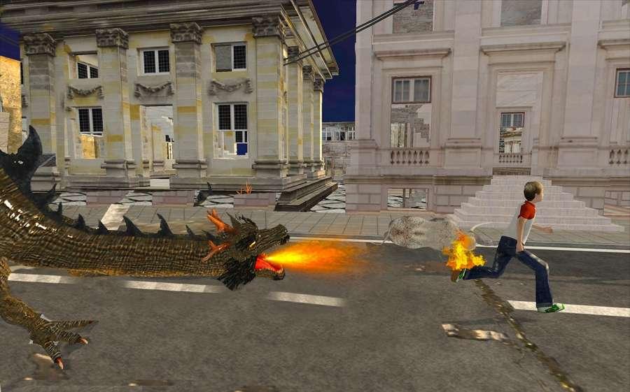 瘋狂怪物龍戰爭Sim截图2