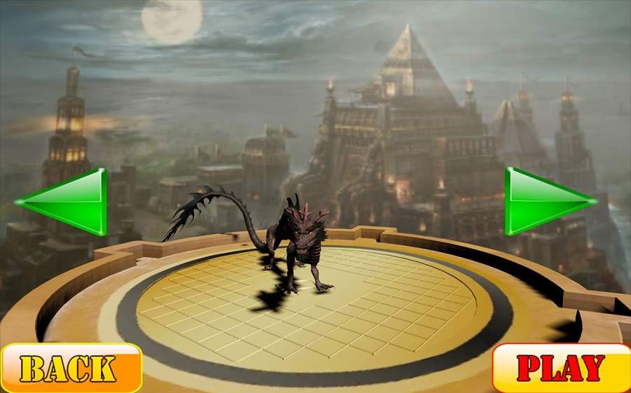 瘋狂怪物龍戰爭Sim截图3