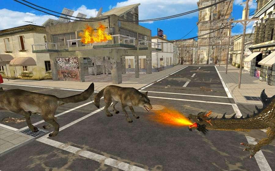 瘋狂怪物龍戰爭Sim截图4