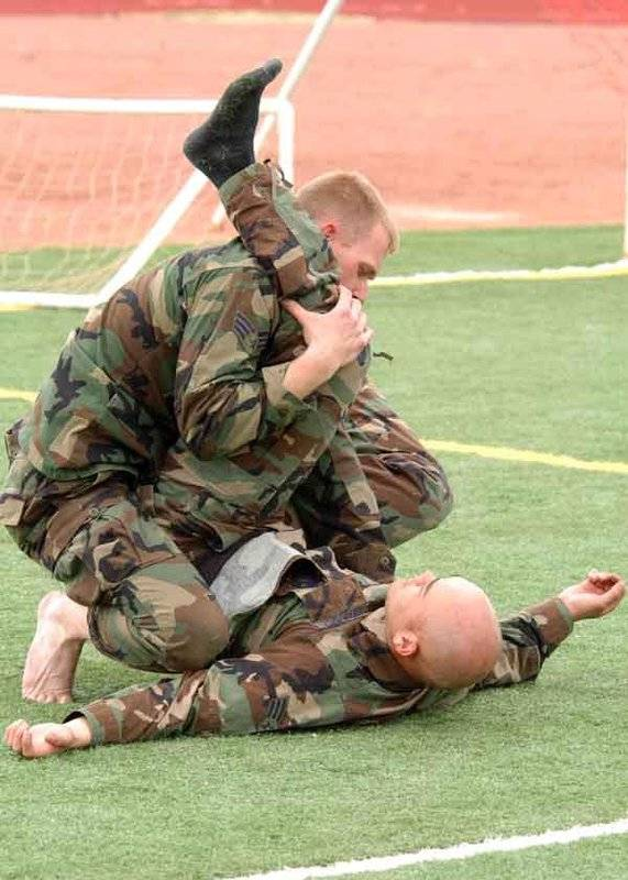 陆军武术技术