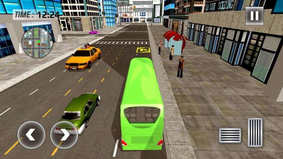 城市巴士司机模拟器2017  -  Pro Coach赛车截图1