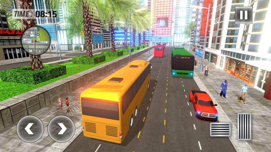 城市巴士司机模拟器2017  -  Pro Coach赛车截图2