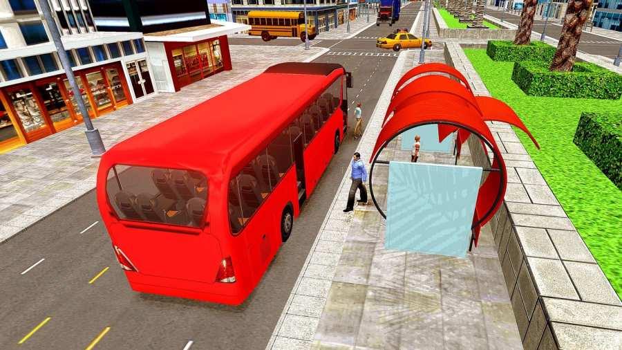 城市巴士司机模拟器2017  -  Pro Coach赛车截图4