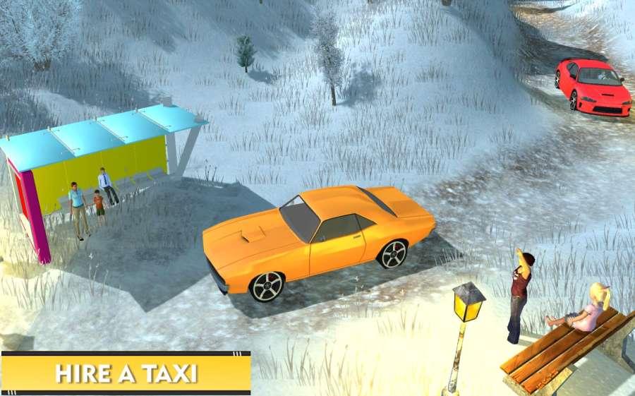 驾驶 越野 山 汽车 出租车