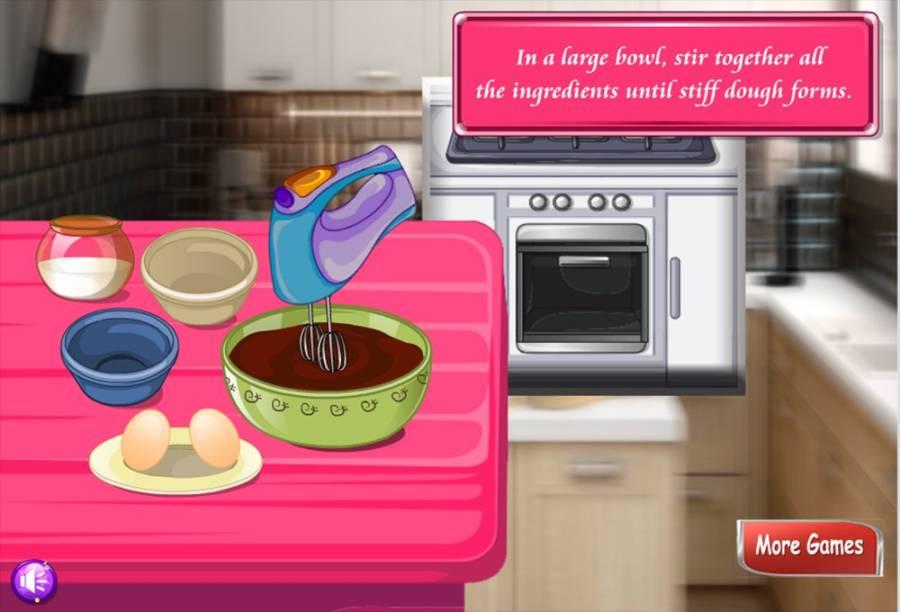 烹饪游戏奶油饼干厨师截图0