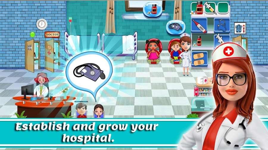 医生故事:医院模拟器游戏截图0