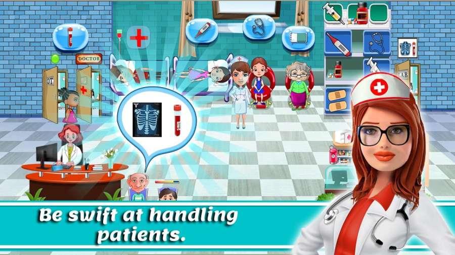 医生故事:医院模拟器游戏截图2