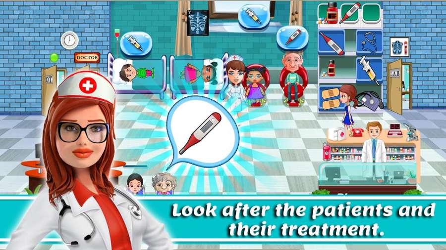 医生故事:医院模拟器游戏截图5