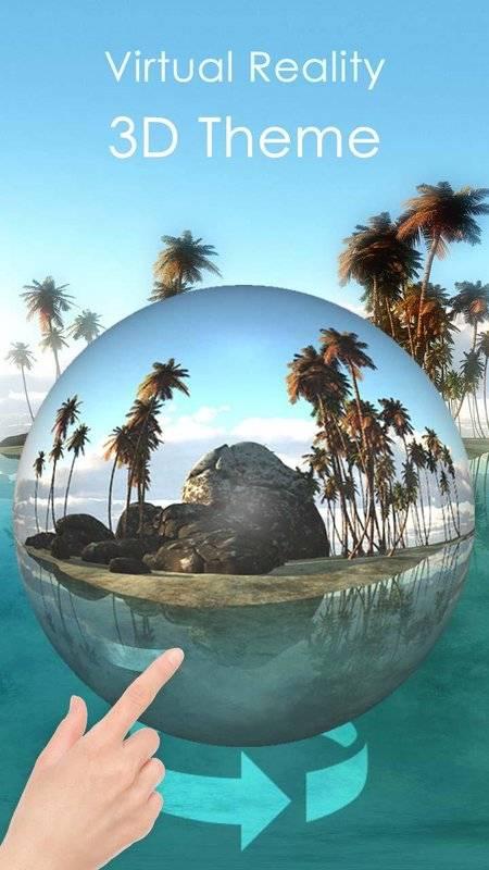 热带岛屿3D主题(VR全景主题)