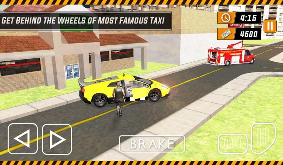 城市出租车模拟器3D - 现代驾驶游戏2017截图2