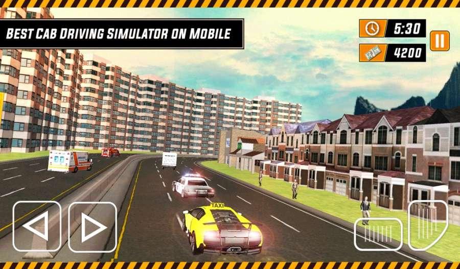 城市出租车模拟器3D - 现代驾驶游戏2017截图3