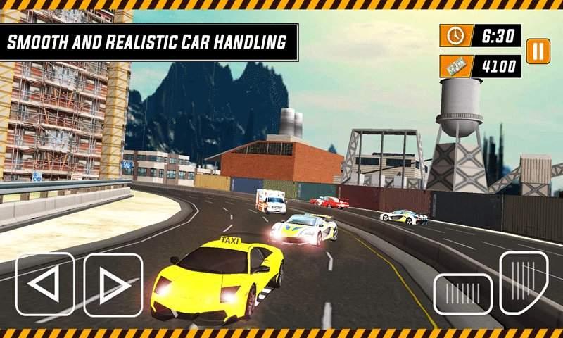 城市出租车模拟器3D - 现代驾驶游戏2017截图4