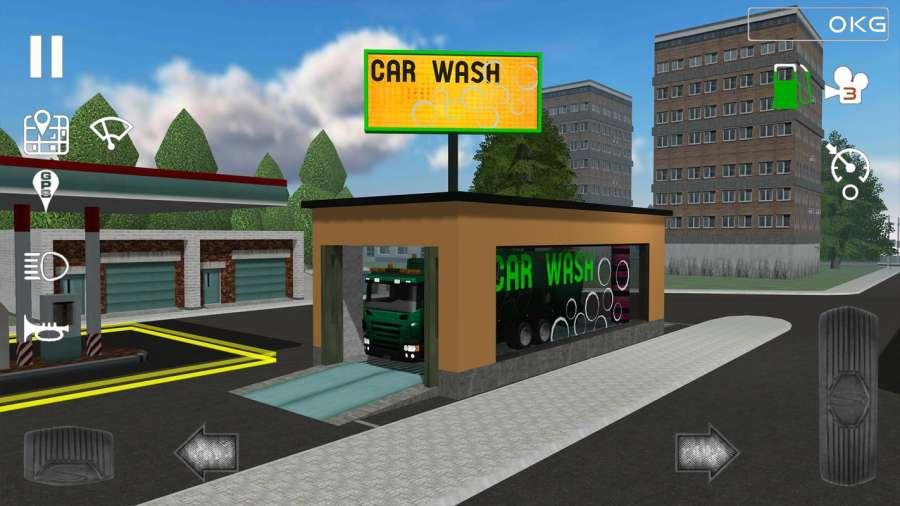 Trash Truck Simulator截图0