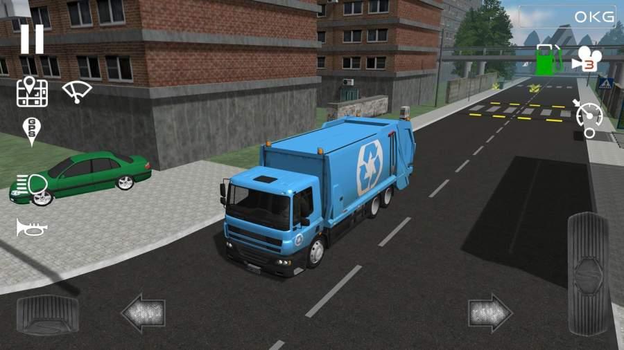 Trash Truck Simulator截图1