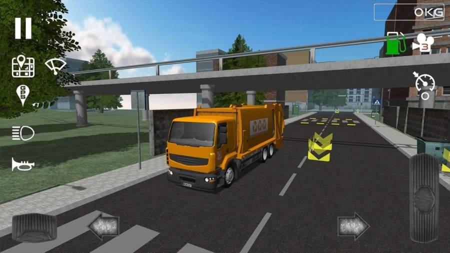 Trash Truck Simulator截图3