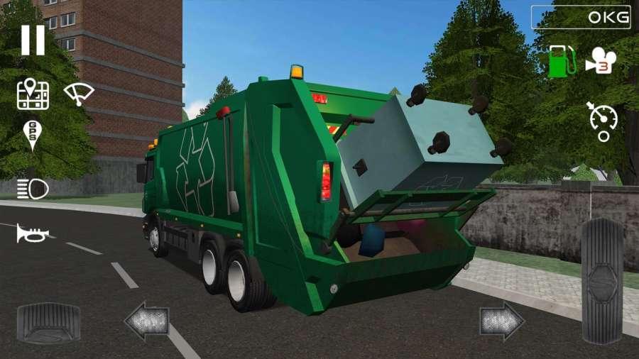 Trash Truck Simulator截图4