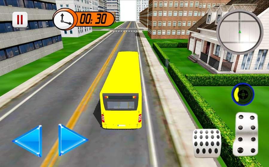 2017年城市校车驾驶:停车模拟器3D