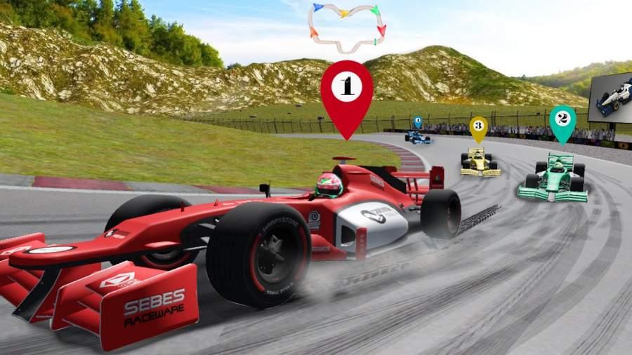赛车公式3D游戏截图0
