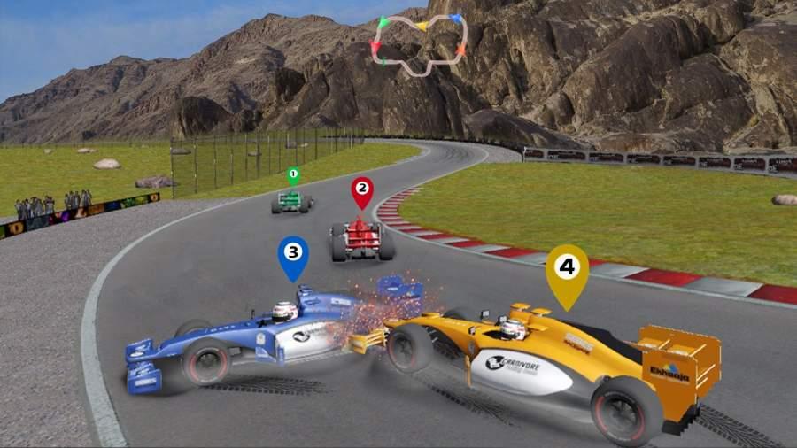赛车公式3D游戏截图5