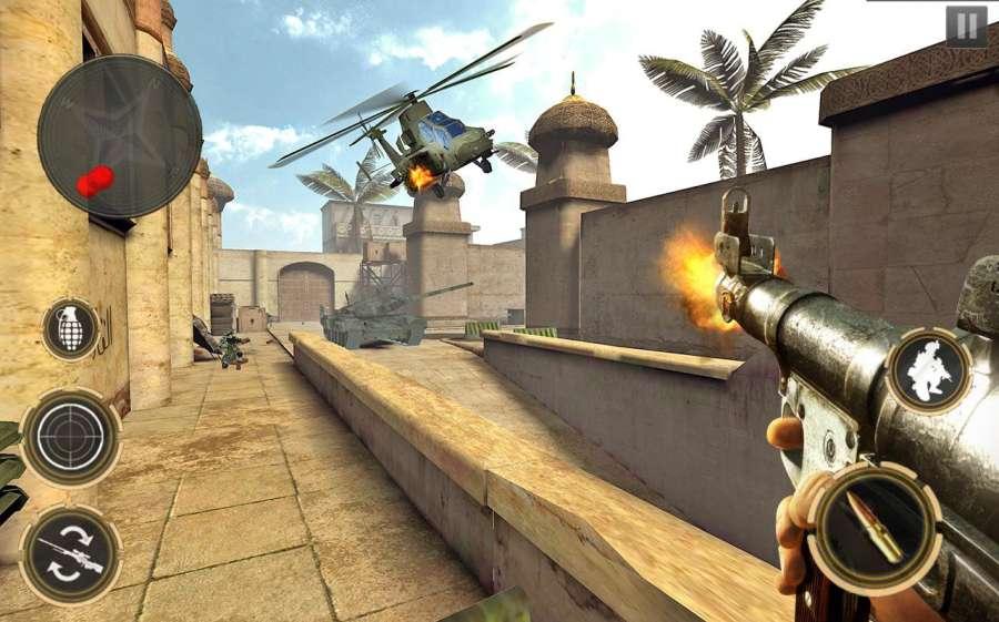 反击现代打击:离线FPS射手