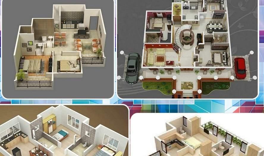 3D建筑设计简约家截图1