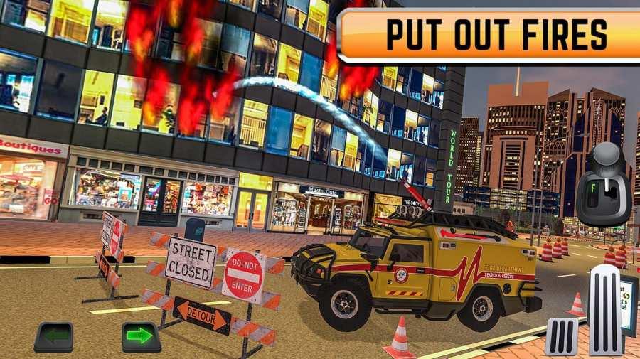 Emergency Driver Sim: City Hero截图0