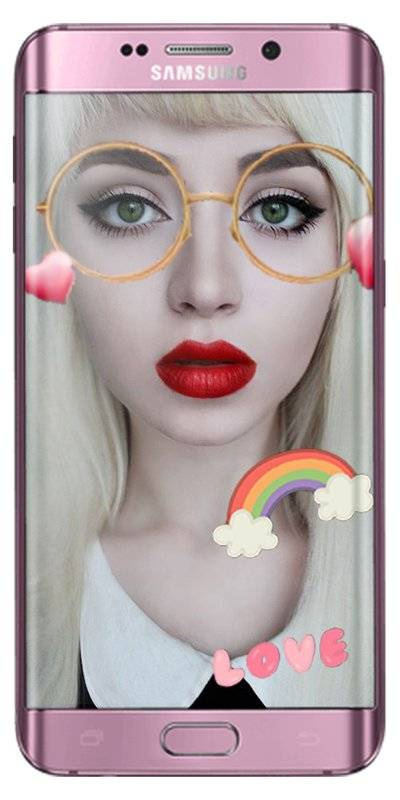 snappy photo filters stickers - face camera截图4