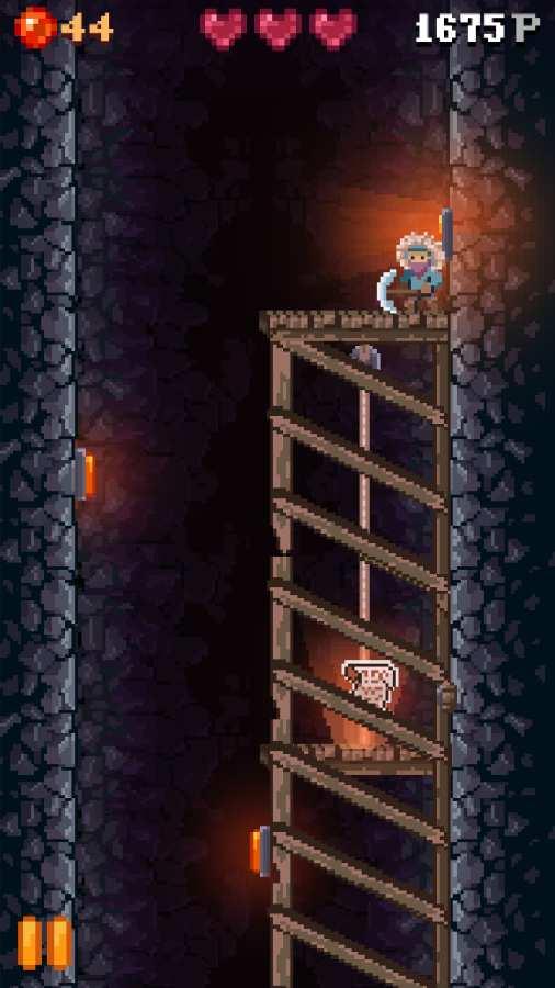 洞穴坠落截图2
