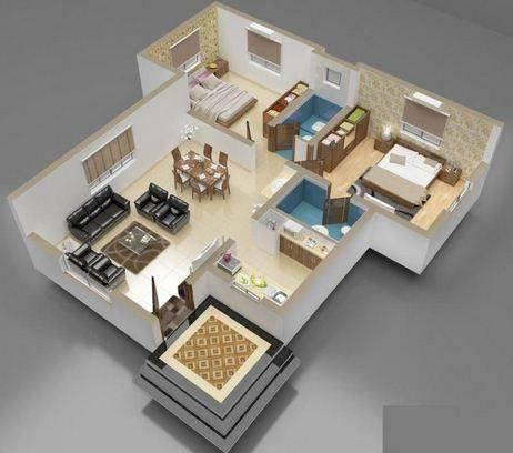 家庭内部3D想法截图0
