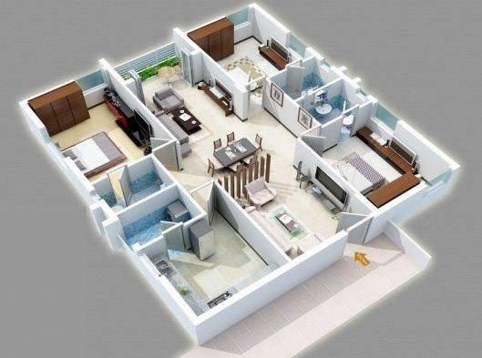 家庭内部3D想法截图1