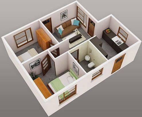 家庭内部3D想法截图2